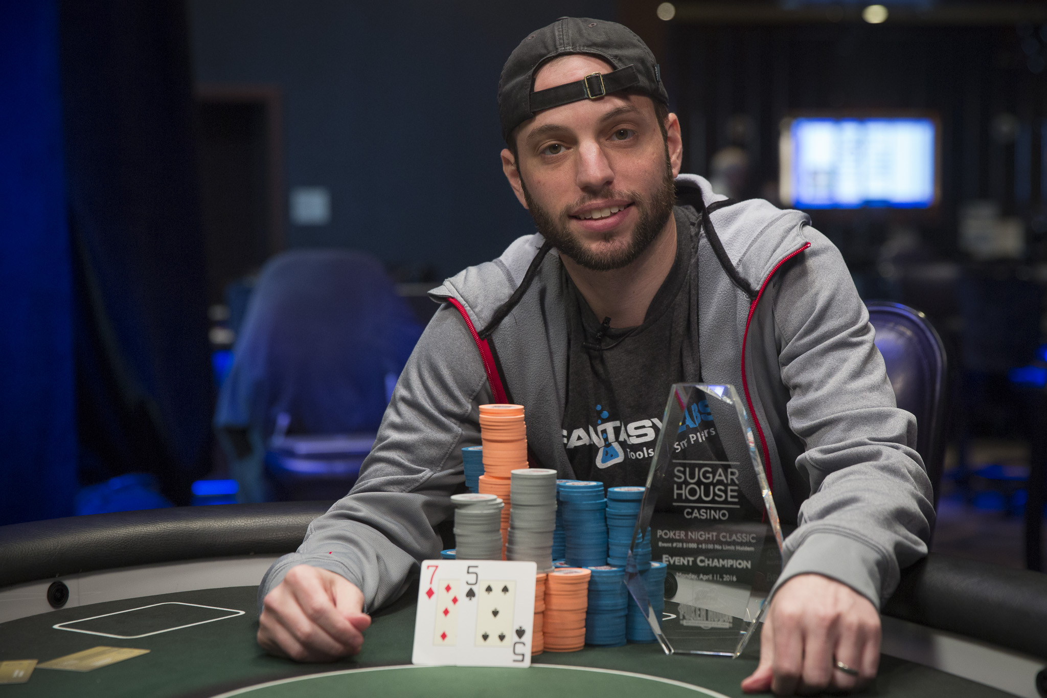 Adam Levitan Wins Poker Night in America Poker Night Classic Main Event at SugarHouse Casino