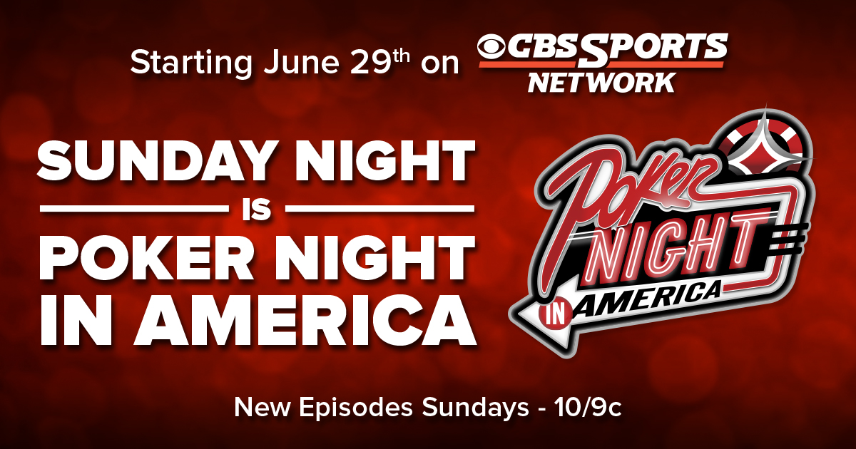 Poker Night in America, CBS Sports Network